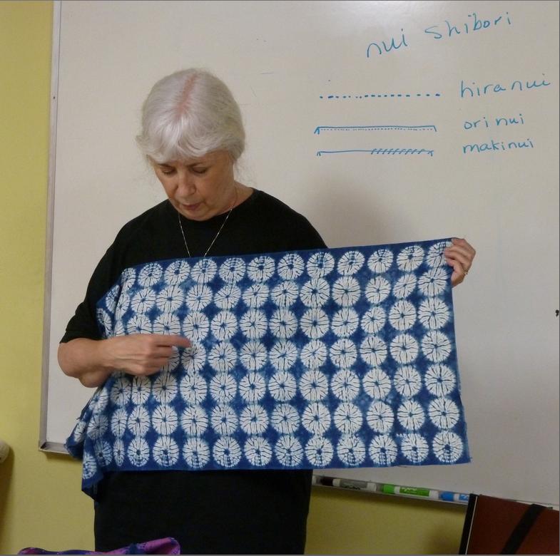 Shibori Circles with Patricia Freiert
