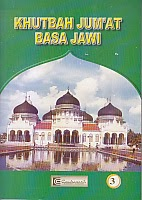 toko buku rahma: buku khutbah jumat basa jawi, pengarang drs. h. adhiman sudjuddin rais, pengarang cendrawasih
