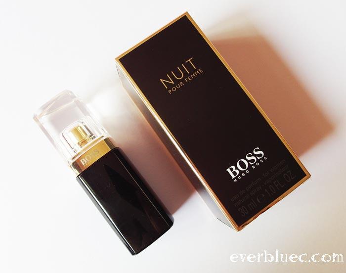 introducing hugo boss nuit pour femme. Black Bedroom Furniture Sets. Home Design Ideas