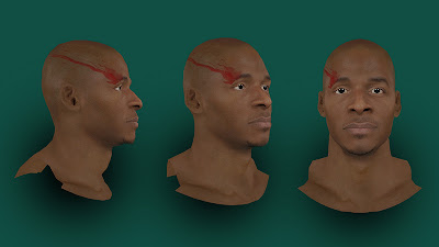 NBA 2K13 Ray Allen Injured Cyberface Mod Blood