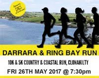 New 10k & 5k near Clonakilty...Fri 26th May 2017