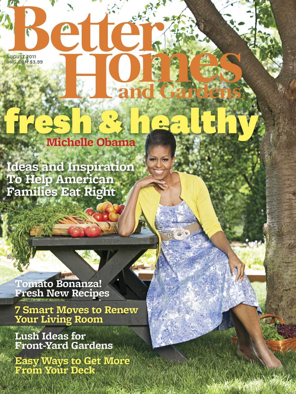 Reaganite independent gluttonous hypocrite michelle obama Better homes and gardens garden ideas