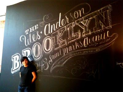 chalk art - black board art - chalkboard artist
