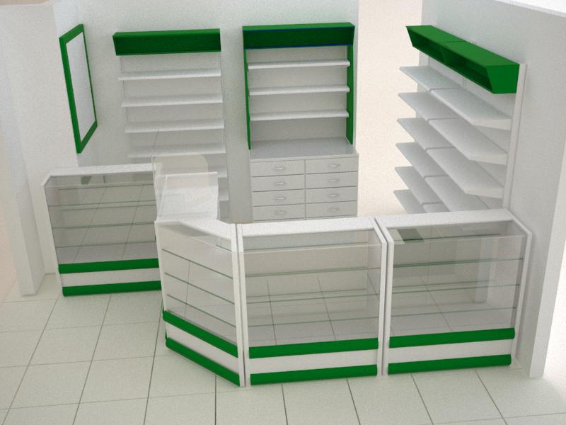 Mobiliario farmacias copidroguistas muebles de farmacia for Muebles para farmacia
