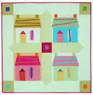 Free pattern!  Caribbean Houses