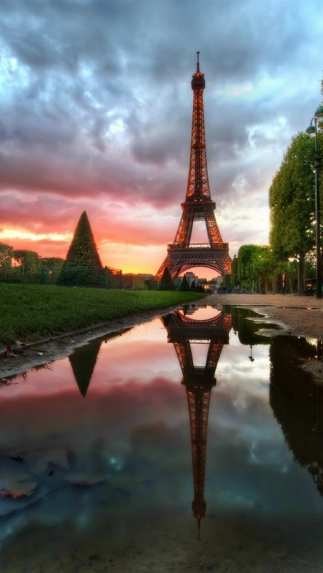 Nice Paris Landscape HD Wallpapers For Iphone