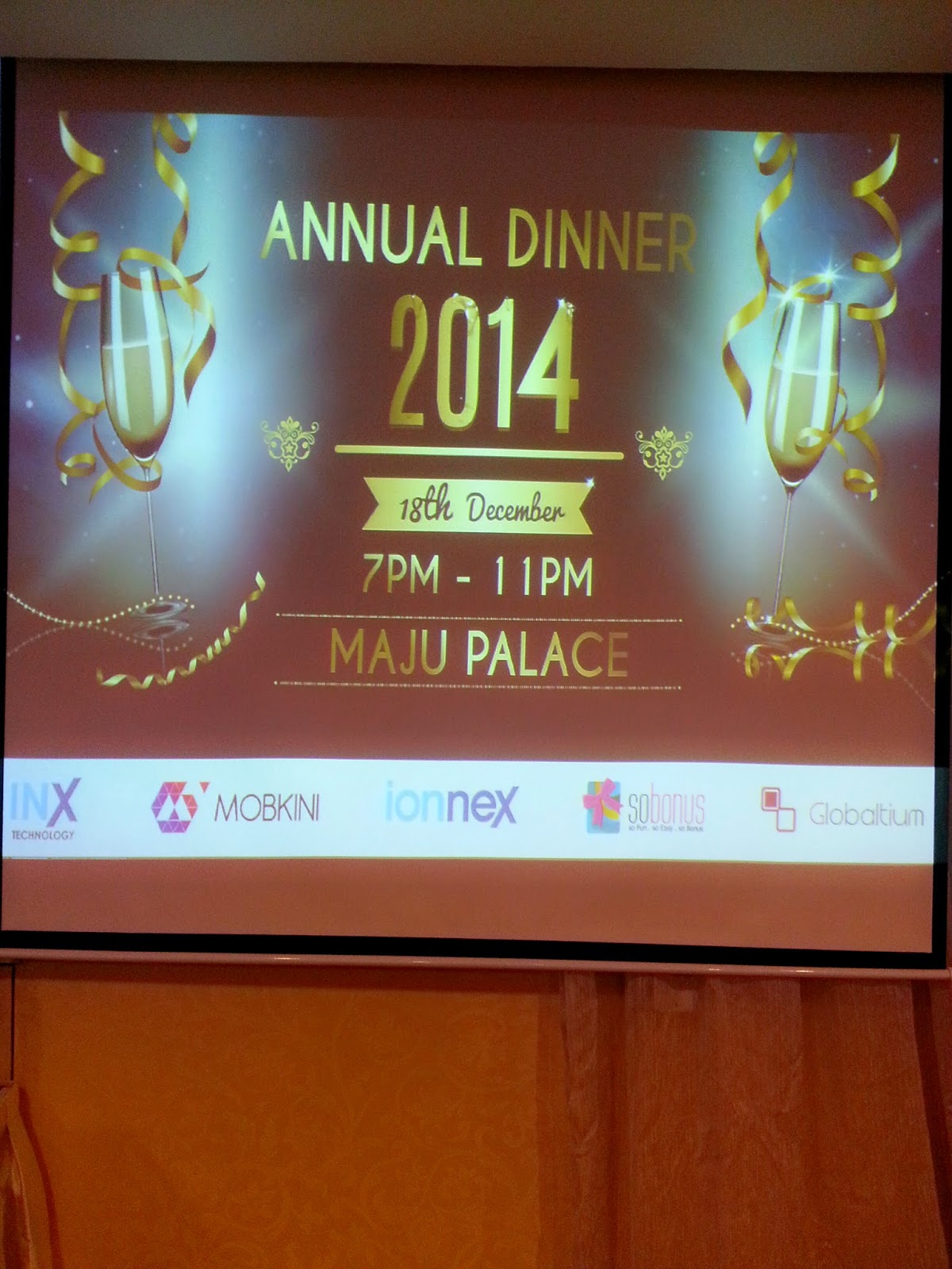 GLOBALTIUM ANNUAL DINNER 2014