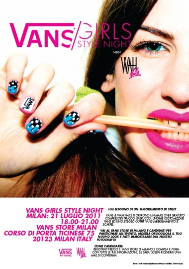 VANS X WAH NAILS TOUR