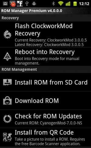 Android Apps 4 Download Free: Downloads ROM Manager Premium v4 3 2 3