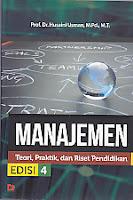 toko buku rahma: buku MANAJEMEN (Teori, Praktik dan Pendidikan), pengarang husaini usman, penerbit bumi aksara