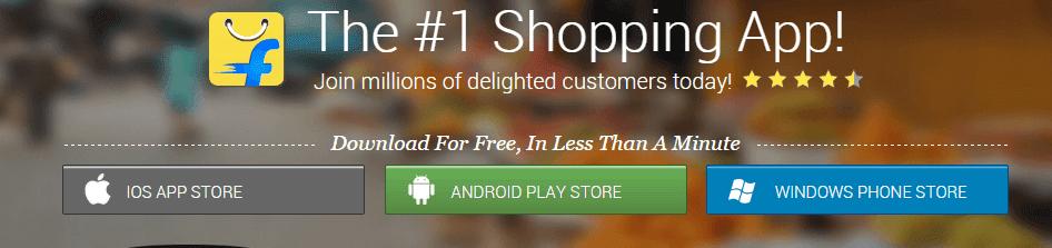 Earn Upto Rs 50 Per App Install Using Flipkart Affiliate Program
