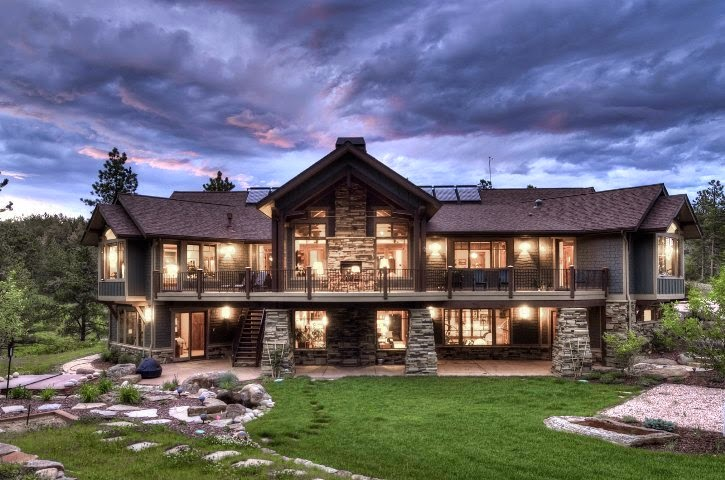 exterior paint ideas for mountain homes