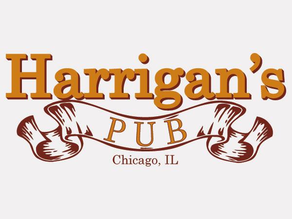 Harrigan's Pub Logo Design Facebook Web Branding Alice Graphix AliceGraphix