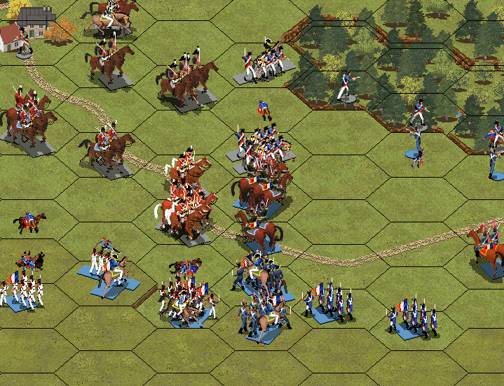Битва при Йене 1806. Кавалерийский бой