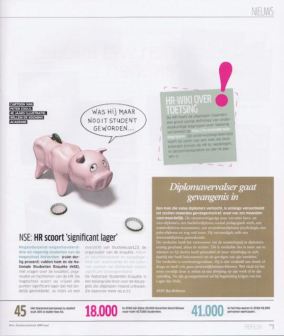 Studenten en geld, tijdschrift Profielen