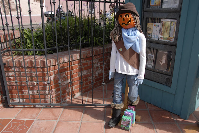 girl scout scarecrow