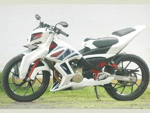 Suzuki Satria F Modifikasi Custom Body