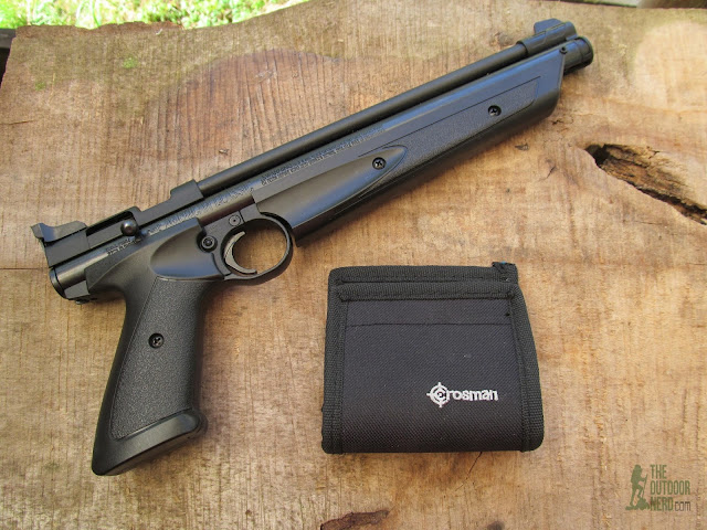 Crosman 1322 Air Pistol - Product View 5