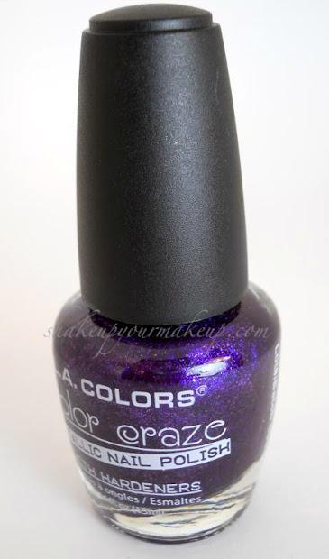 notd la color's color craze metallic