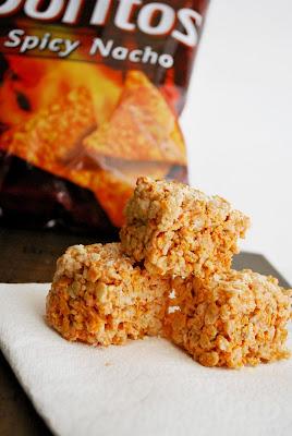 Doritos Rice Krispy Treats