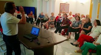 En la Tertulia Athenea, Cartagena 12.05.2015