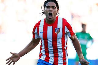 Doblete de Falcao con Atlético Madrid