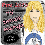 Reto 2013: 75 Tomos Manga!