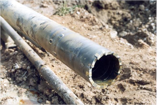 tubo testigo geotecnia