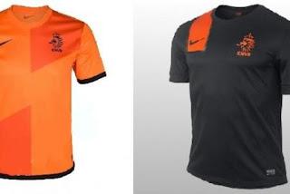 Kostum Belanda Euro 2012