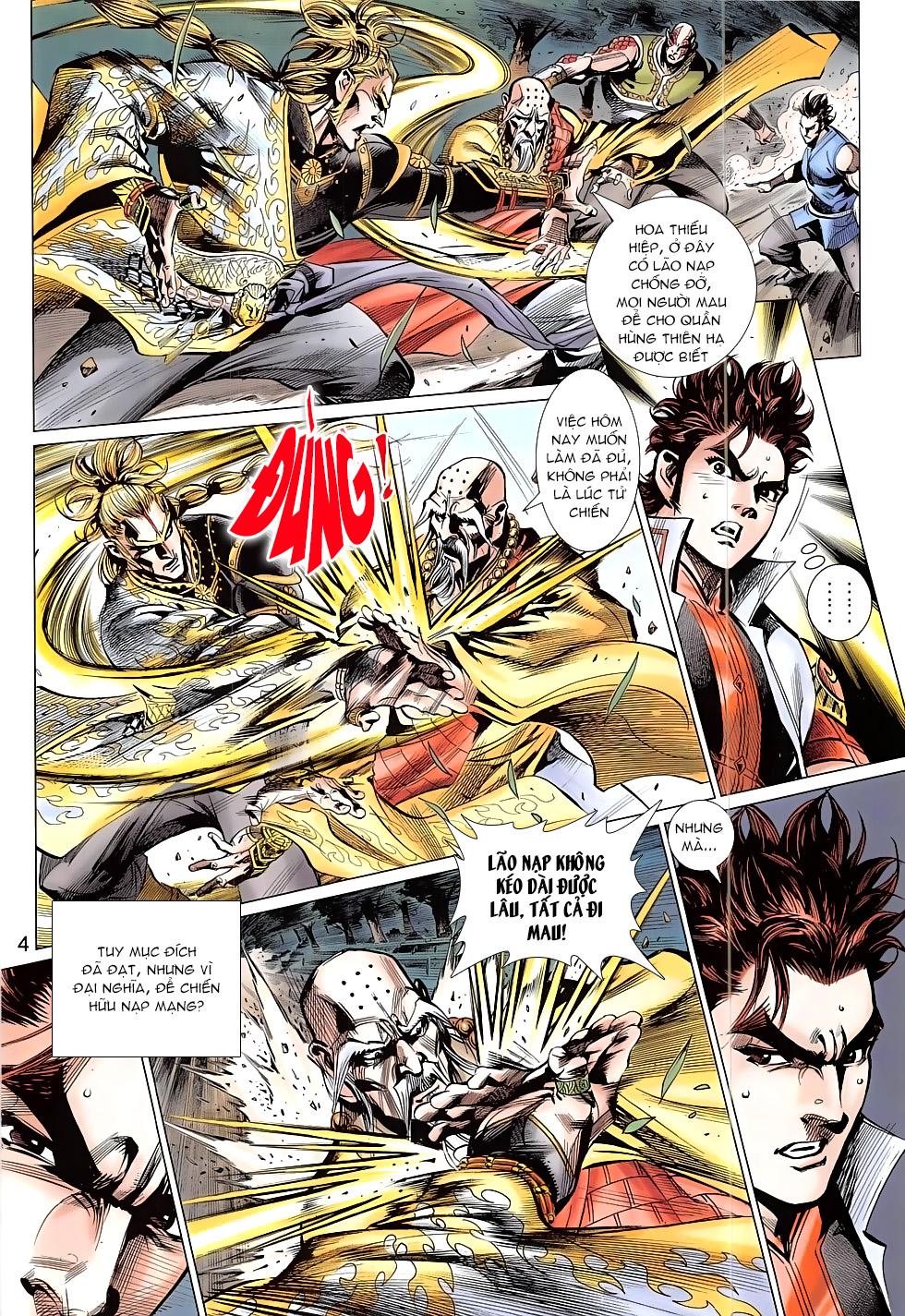 Thần Chưởng trang 4