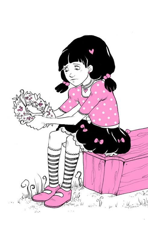 The Artwork Of Isabelle Metzen Ella Vampirella Innenillus