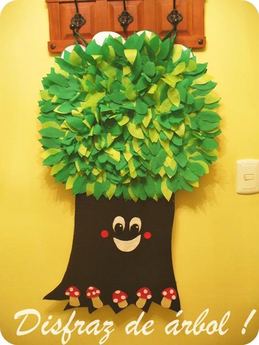 Llevo el invierno ♥: {Disfraz de árbol !