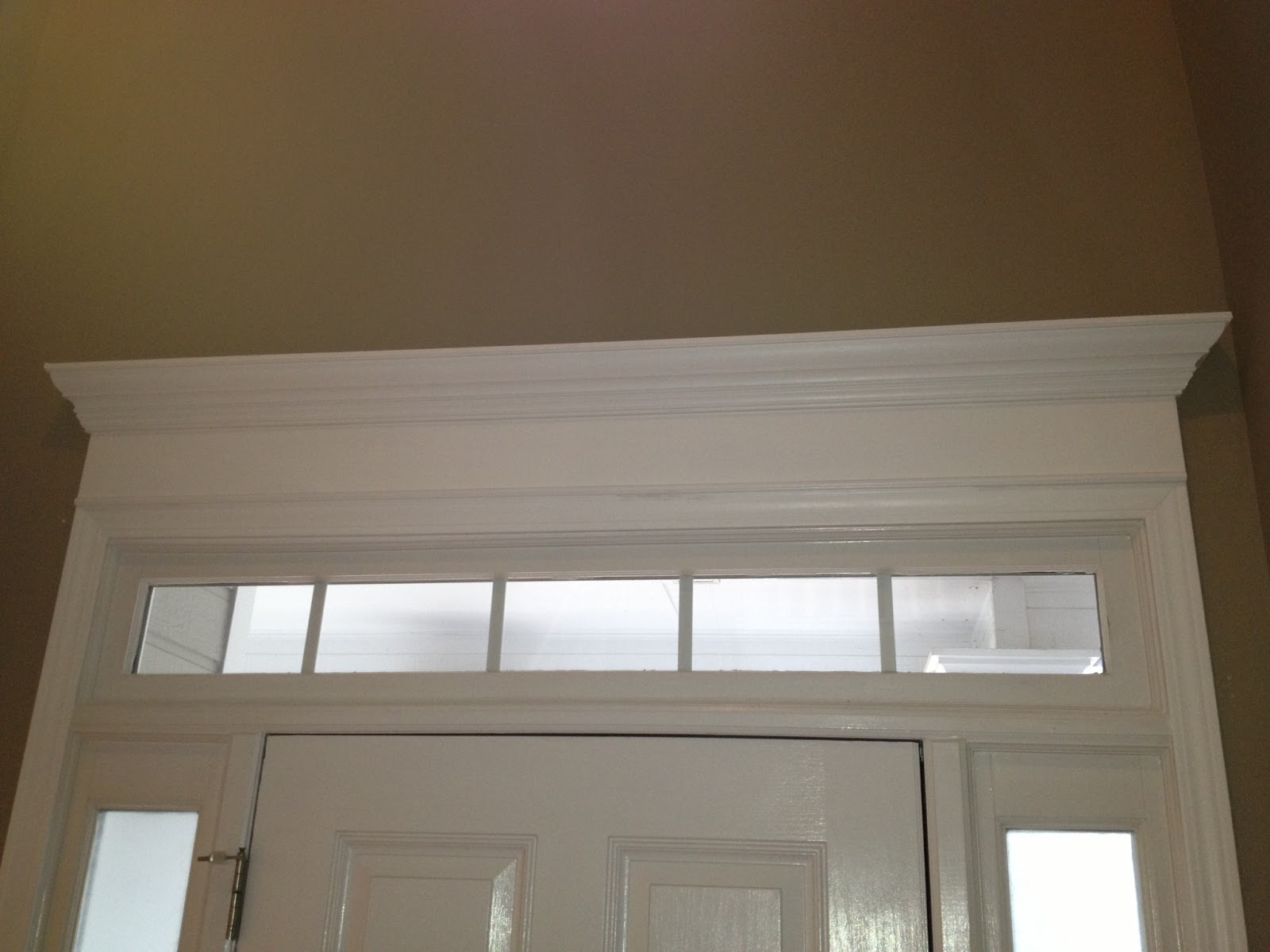 Door Crown Moulding