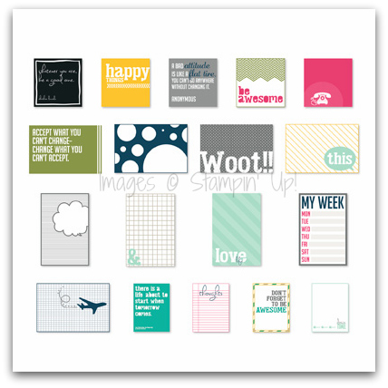 Stampin' Up! Happy Things Pocket Cards Digital Download
