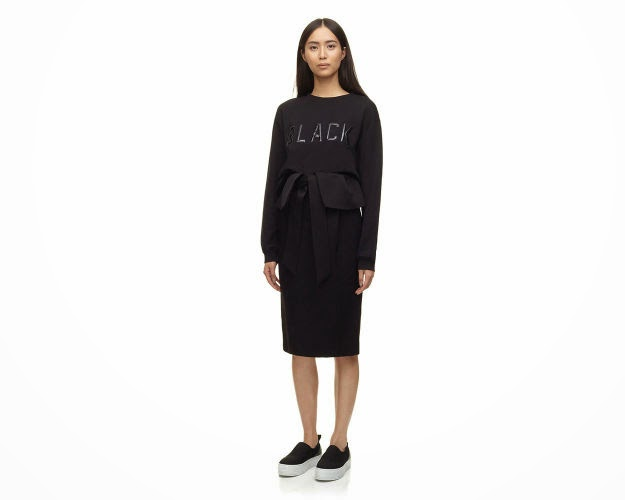 whistles black sweater