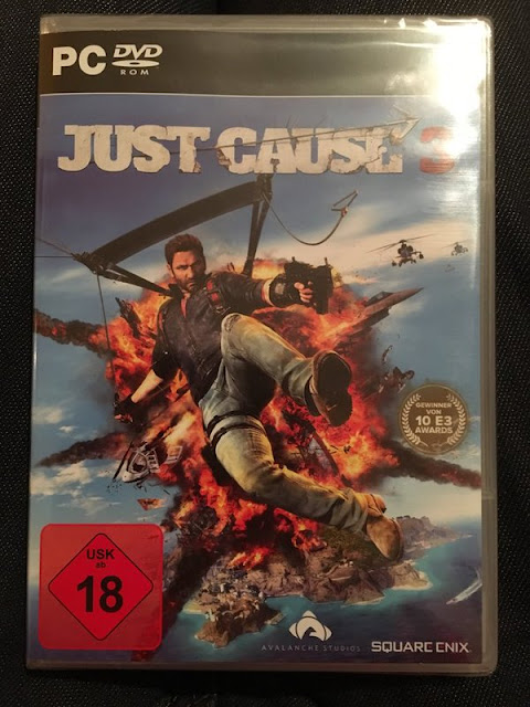 Capa do Just Cause 3