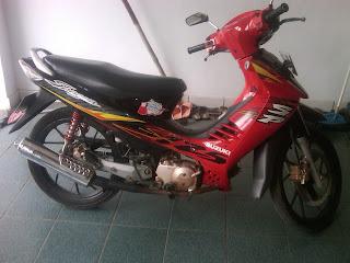 Motor Shogun F 6401 KB Bandung.