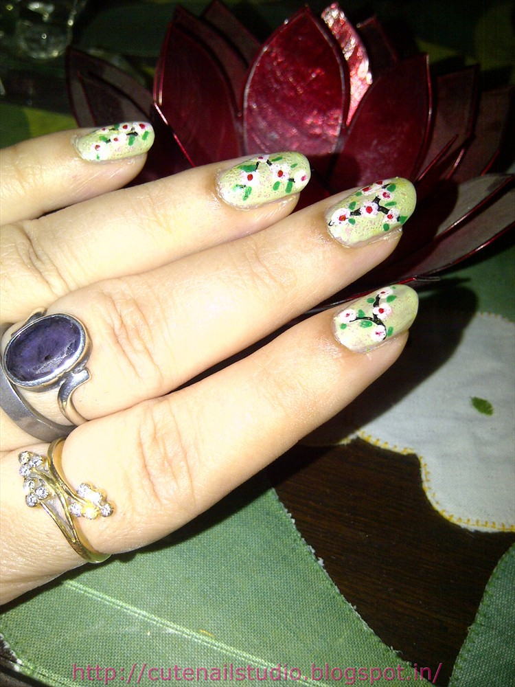 The Exciting Cute and easy flower nail designs Pics
