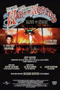 Watch The War of the Worlds: Live on Stage! Online Free in HD