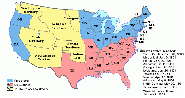 Alternate History What if the South Won the Civil War ...