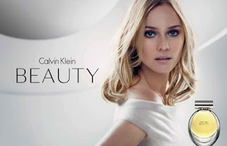 calvin klein ad for perfume called Beauty