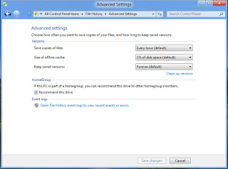 File History in Windows 8