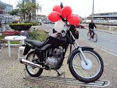 Moto sorteada em São João del Rei