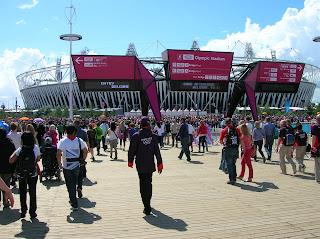 London 2012 Olympics - Olympic Stadium