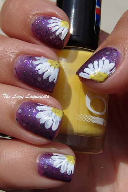 manicure manifesto daisy nail