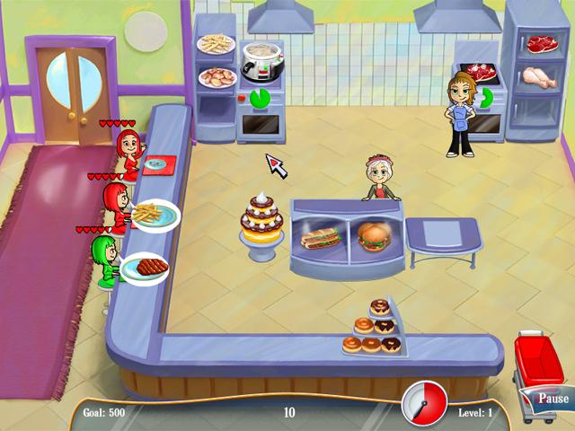 تحميل لعبة Diner Dash مجانا
