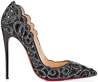Desejo do dia - Sapatos pretos de Christian Louboutin
