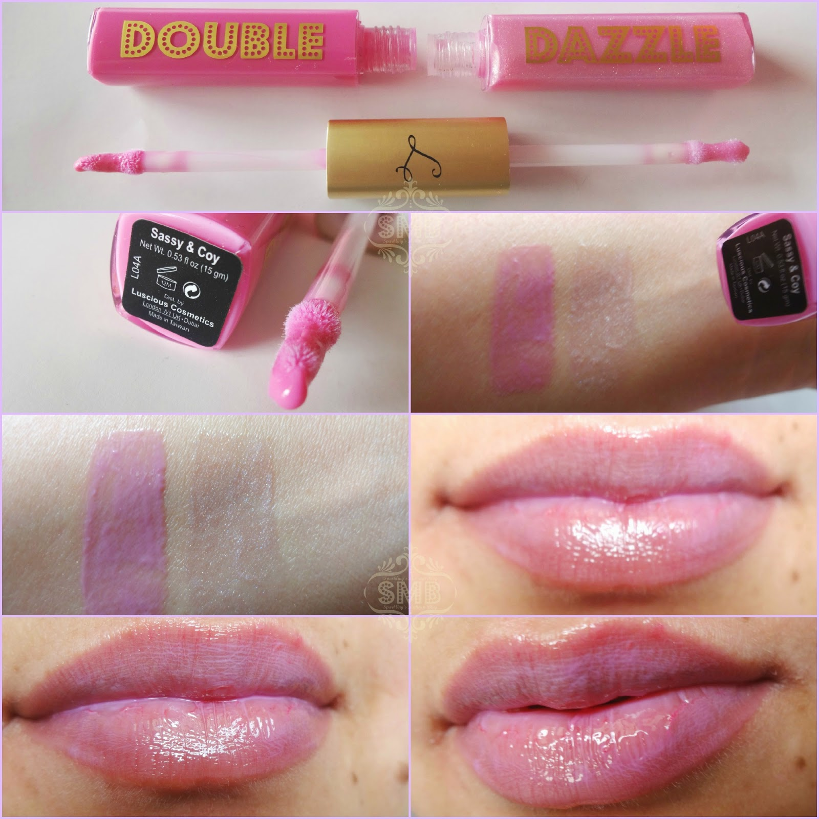 how to make sparkly lip gloss
