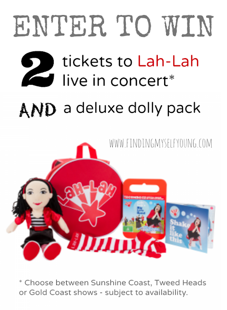 Finding Myself Young: Win tickets to see Lah-Lah live in concert plus a deluxe dolly pack