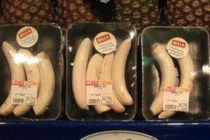 Voorverpakte bananen